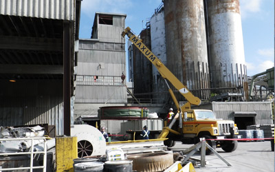 Lafarge Richmond: Cooler Transitions Duct Re & Re
