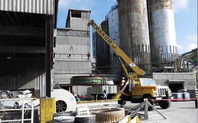 Lafarge Richmond: Cooler Transitions Duct Re & Re